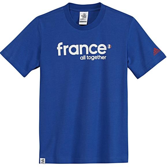 ADIDAS FRANCE оригинална мъжка тениска - 0702-124